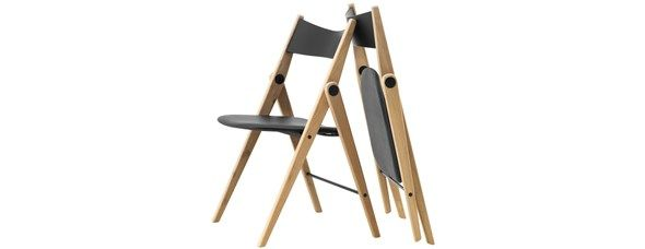Folding dining chair by Bo Concept £229