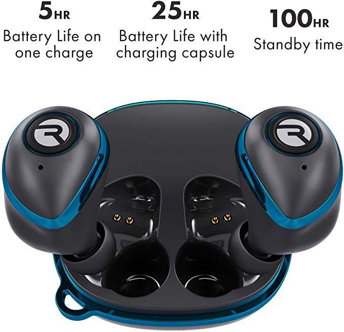 Amazon Com Raycon E50 Wireless Earbuds Bluetooth Headphones Bluetooth 5 0 Bluetooth Earbuds Stereo S Wireless Earbuds Bluetooth Headphones Bluetooth Headset