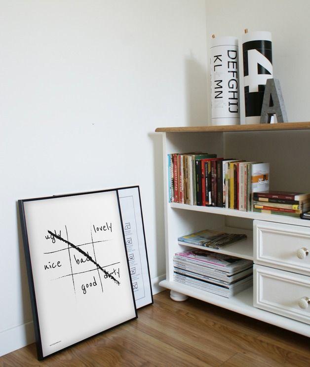 *Przedmiotem sprzedaży jest czarno-biały plakat z autorską grafiką w stylu skandynawskim i loft.*  Grafika jest wydrukowana na papierze dedykowanym do druku plakatów, o wysokim współczynniku...