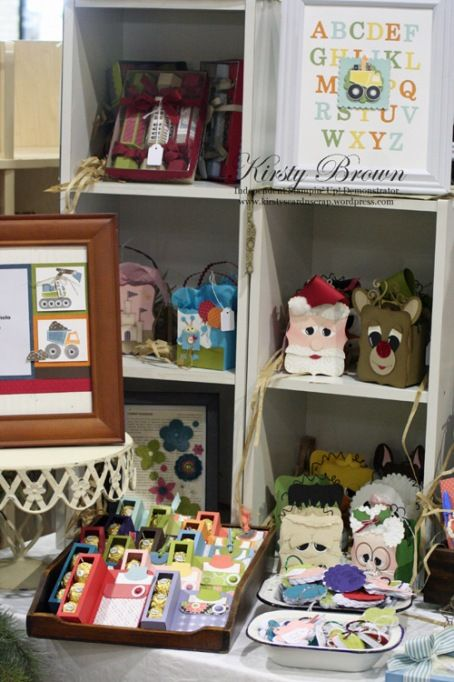 Kirsty brown's gorgeous Craft Fair gifts and layout