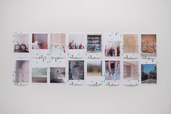 Moyra Davey, Trust Me, Installation view: Photo-Poetics: An Anthology, Solomon R. Guggenheim Museum, New York, November 20, 2015– March 23, 2016. Photograph: David Heald