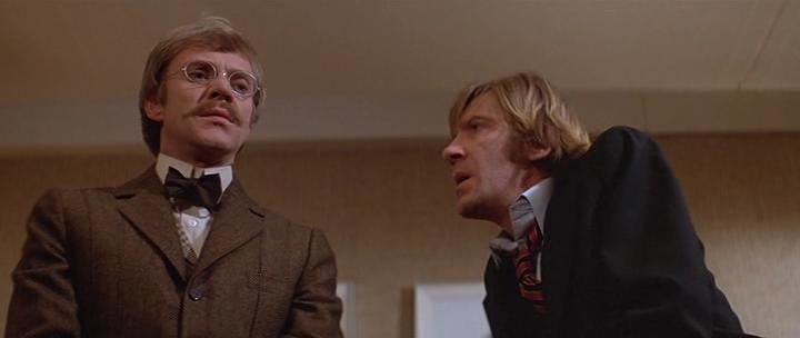 David Warner and Malcom McDowell in Time After Time (1979)
