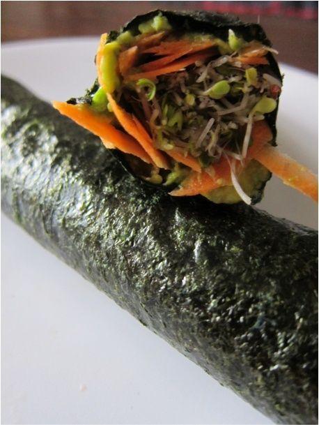 Raw Vegan Nori Rolls #diet #food