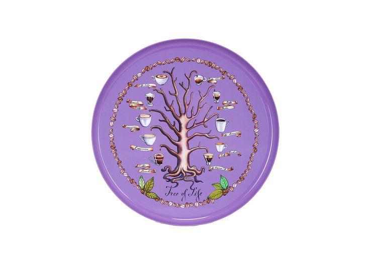 #TreeOfLife tray, design by Silviya Neri for #altreforme, #BuonAppetito! Collection, #interior #home #decor #homedecor #furniture #aluminium #woweffect #madeinItaly