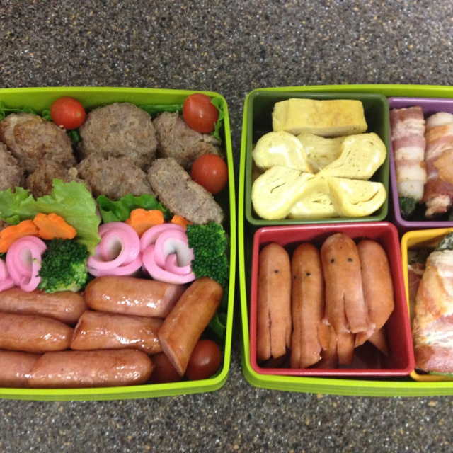 bento japanese style lunch box lunch box pinterest. Black Bedroom Furniture Sets. Home Design Ideas