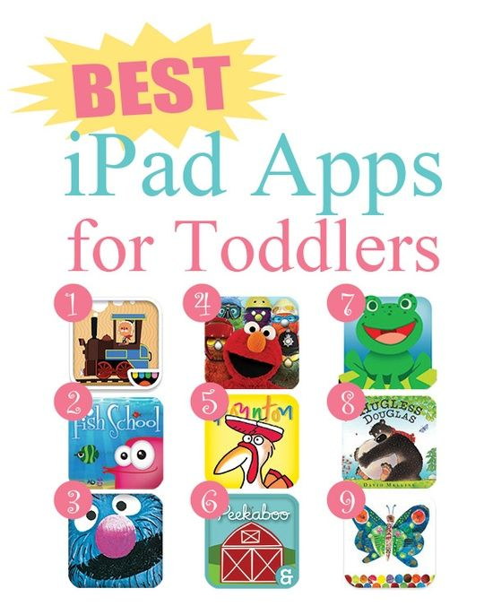 Fried Pink Tomato  Blog Archive Best iPad Apps for Toddlers