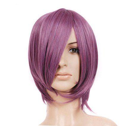 Purple Rose Dark Pink Short Length Anime Cosplay Costume Wig Cosplay Depot http://www.amazon.com/dp/B004TUKJUS/ref=cm_sw_r_pi_dp_ab3Iwb0YYVXAT