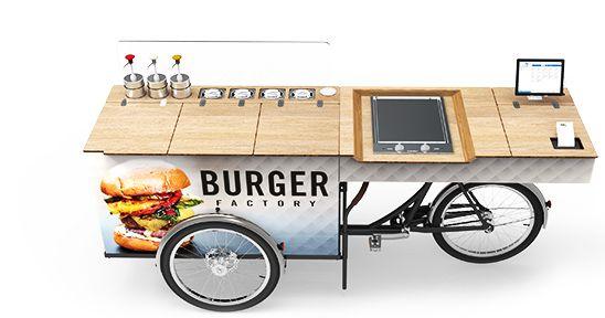 FOOD BIKE - IMBISSWAGEN - VERKAUFSRAD | paul&ernst street food solutions