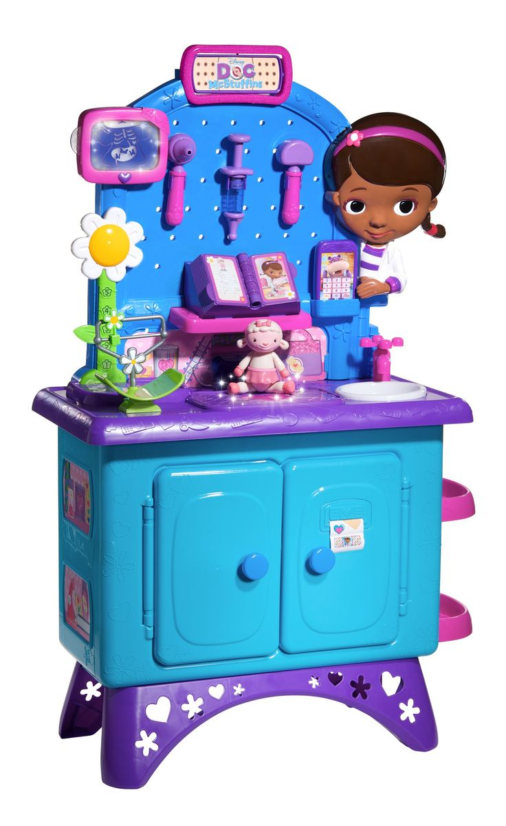 This is a list of the newest Doc McStuffins toys!