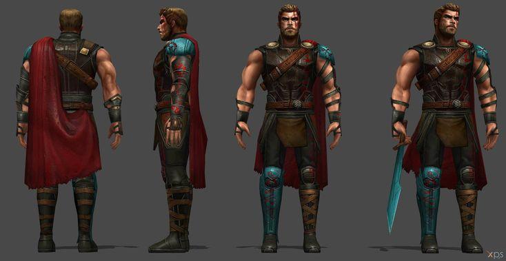 Thor Gladiator Costume (Thor Ragnarok) by SSingh511
