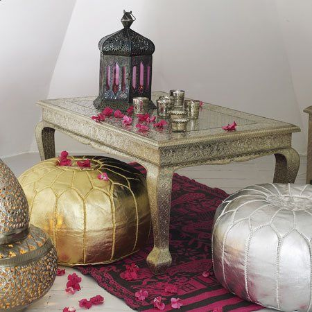 marokkói dekoráció