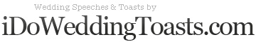 Order of Wedding Toasts, Toasting Etiquette and Tradition | Articles Wedding Speeches, Toasts | IdoWeddingToasts.com