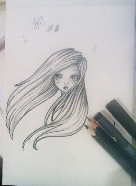 #piccolegioie #draw #manga #cute #hair #pencil