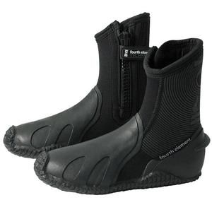 Fourth Element Pelagic 6.5mm Zipped Boots | This product and more at http://www.watersportswarehouse.co.uk/shop/scuba-diving-equipment.html