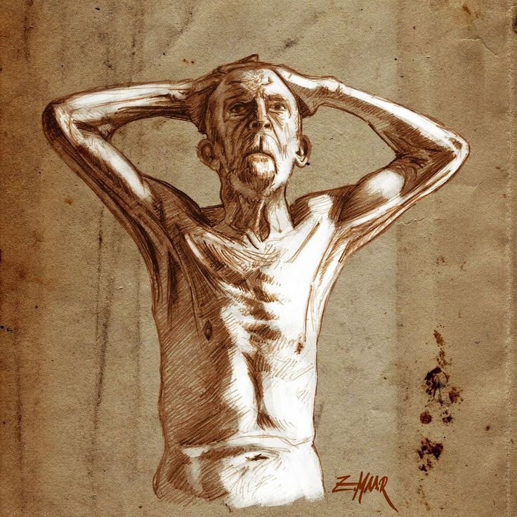 old man sketch See more at www.zoltanmaar.com      #anatomy #human #anatomia #humanity #sketch #practise #painting #painting #draw #lightandshadow #instaart #vintage #paper #artandphotomunich #vintagepaper #instadaily #creative #thehumanbody #body #humananatomy #creative #like4like #fisioterapia #arte #man #old #art #ink #artoftheday #follow4follow REPOSTING with credit is allowed & encouraged.
