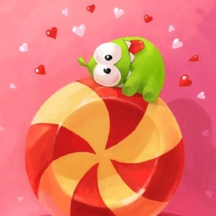 Repin and Share this picture with one friend who you think will love Cut the Rope!