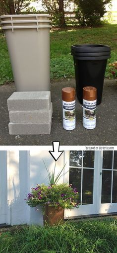50 best garden tools collectibles images on pinterest for Spray paint rocks for garden