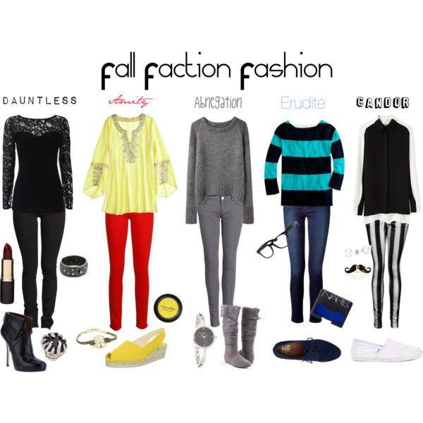 """Fall Faction Fashion"" by callmeunwritten on Polyvore"