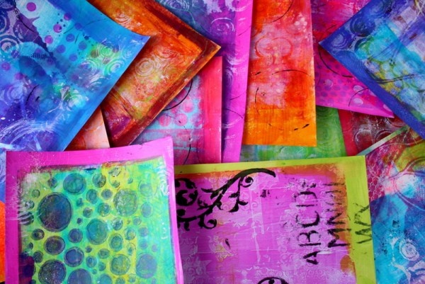 GELLI-LICIOUS - Jodi Ohl  One Day Workshop  Kit Fee: $20.00
