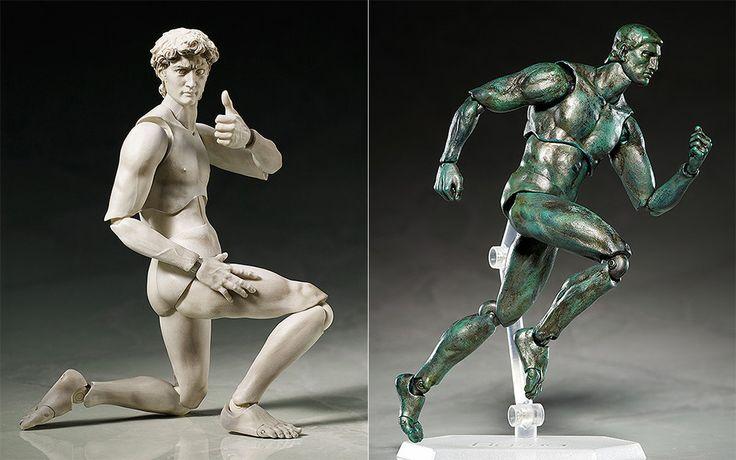 "Classical Sculpture Action Figures Bring ""David"" and ""Venus de Milo"" to Life"