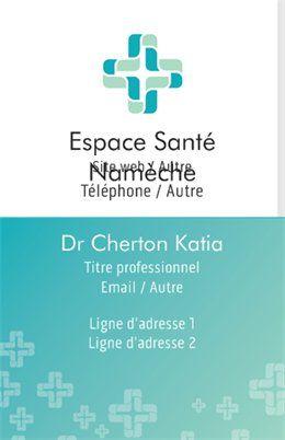 Professions Mdicales Cartes De Visite Standard Modles Et Graphismes Page 4