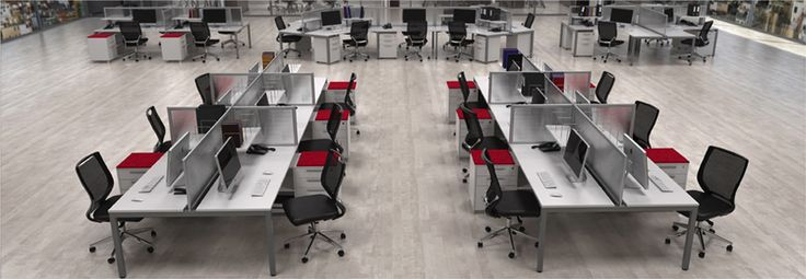 Shared Desking, yes it can look good and there are so many ways to configure them!   decorumdesigns.co.nz