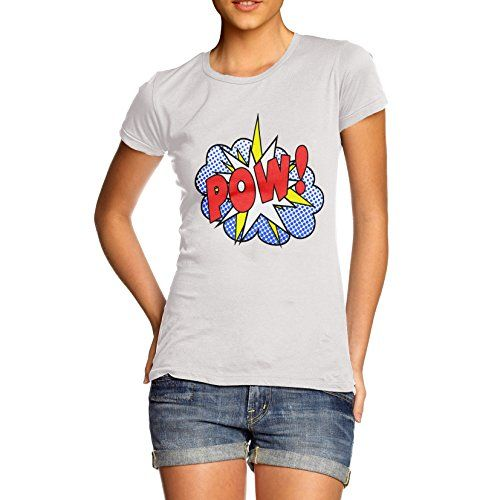 Women Cotton Novelty Comic Book Theme Pow! Print T-Shirt ... https://www.amazon.com/dp/B00P2NQ7SY/ref=cm_sw_r_pi_dp_U_x_nl6yAbEYSB5DN