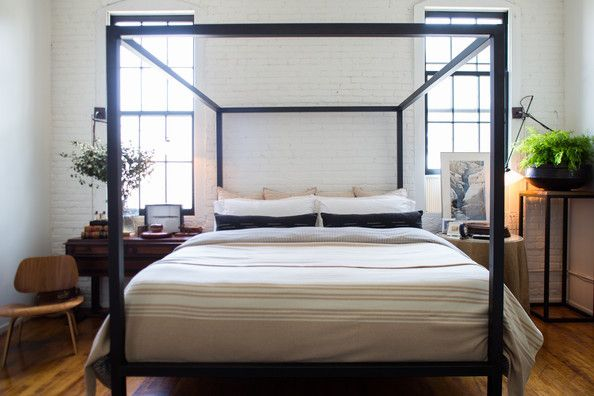 "The Scando-Phile - Ikea is your guilty pleasure and you're contemplating a Hans Wegner tattoo.  Your decor mantra is ""clean lines above all else"" so your bedding should echo this principal, displaying symmetry and subtle neutral color ratios with an obligatory nod to black—a bolster would do nicely."