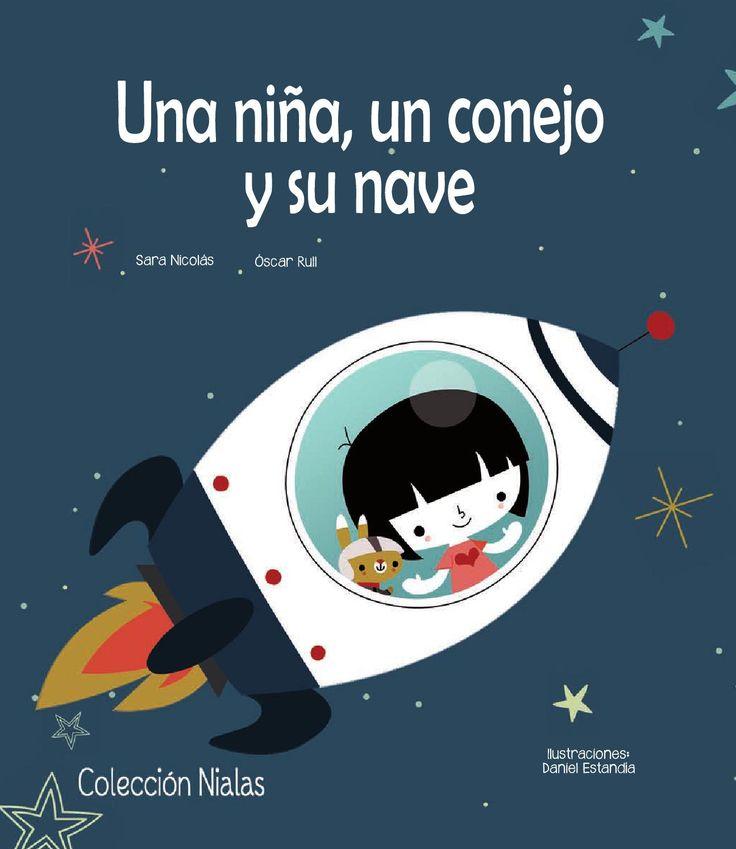 Nº registro privado:150121304661 Por encima de las nubes pegadita a las estrellas flota en el espacio la Luna Lunera. Allí no hay nada ni nadie, sólo una niña, un conejo y su nave. Y un día tan aburridos están, que se van a explorar el espacio sideral.