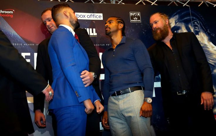 Watch David Haye vs Tony Bellew 2 press conference LIVE: Updates from face-to-face in London #Boxing #DavidHaye #allthebelts #boxing