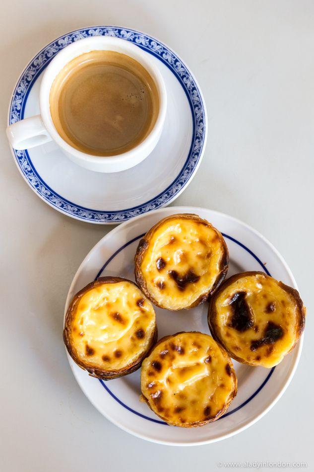 Pastéis de Belém tarts are a classic food in Lisbon, Portugal