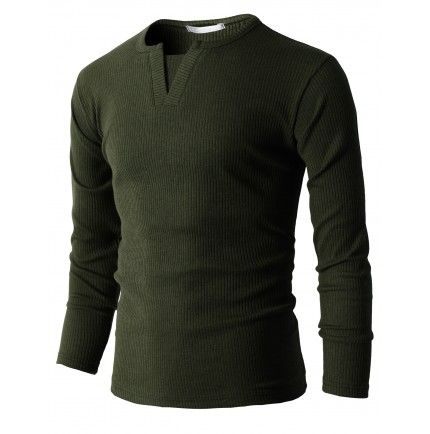 $20.00 Mens Casual Slim Fit Fashion T-Shirts Long Sleeve (KMTTL031)