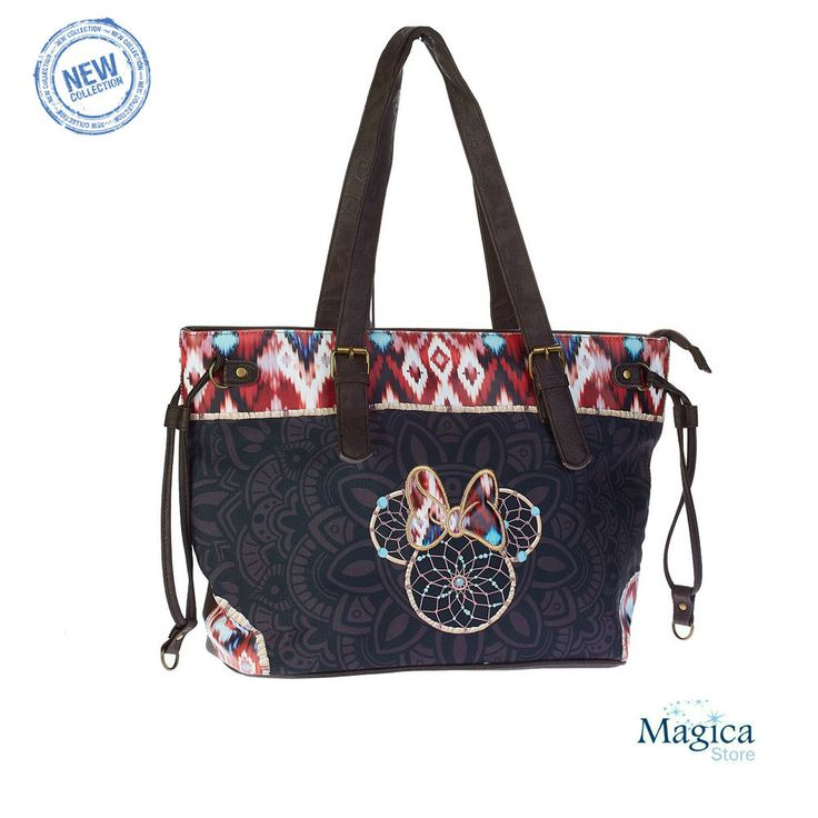 Womans Fashion Tote Shopper bag + purse  *Minnie BOHO* New | Authentic* #Karactermania #TotesShoppers