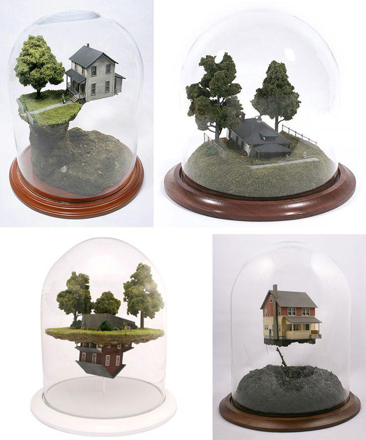 Dioramas by Thomas Doyle.