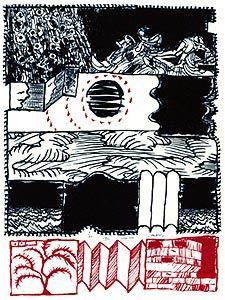 Les 25 meilleures id es concernant corneille sur pinterest for Alechinsky lithographie