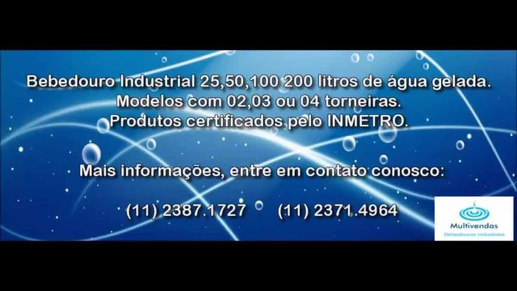 BEBEDOUROS INDUSTRIAIS ,BEBEDOURO PRESSAO,PURIFICADORES DE AGUA, www ven...