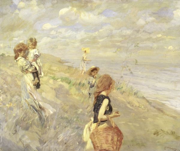 The Sand Dunes, 1907 by Ettore Tito