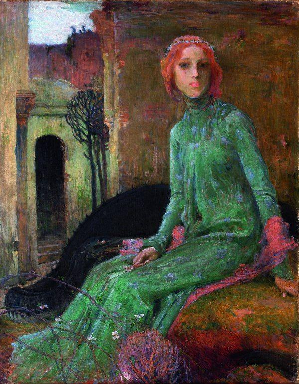 Jan Preisler - Fairy Tale (1903) #art #painting #czechia #symbolism