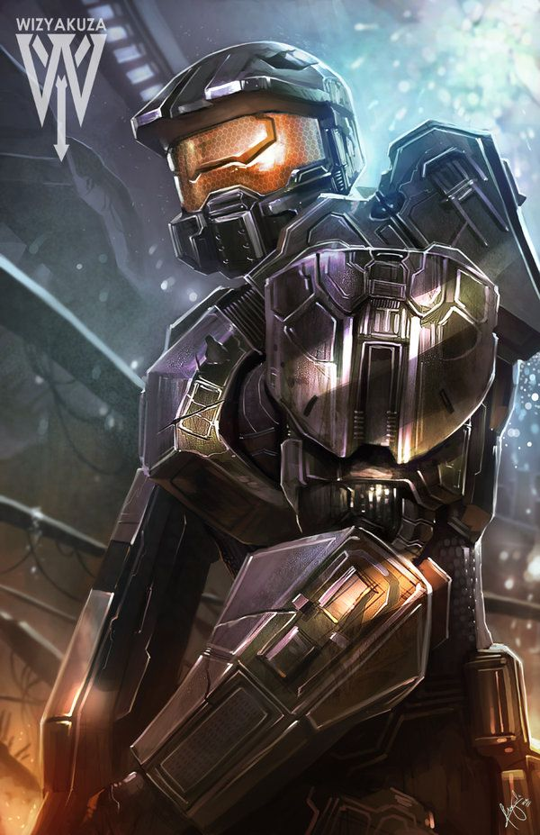 Halo: Master Chief Fan Art - Created by Ceasar Ian Muyuela