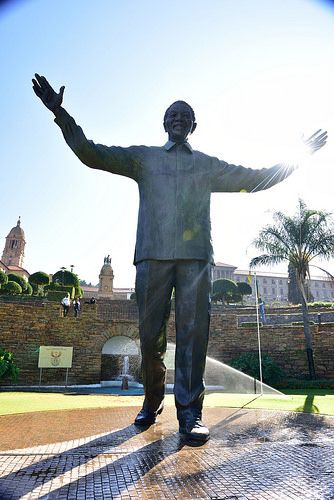 Nelson Mandela Statue, Union Buildings, Tshwane, Pretoria, Gauteng, South Africa   by South African Tourism