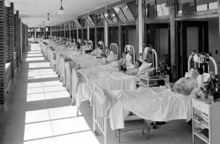 """Solarium at Waverly Hills """"Sanatorium"""" (It was a Tuberculosis Hospital before they knew what it was)"""