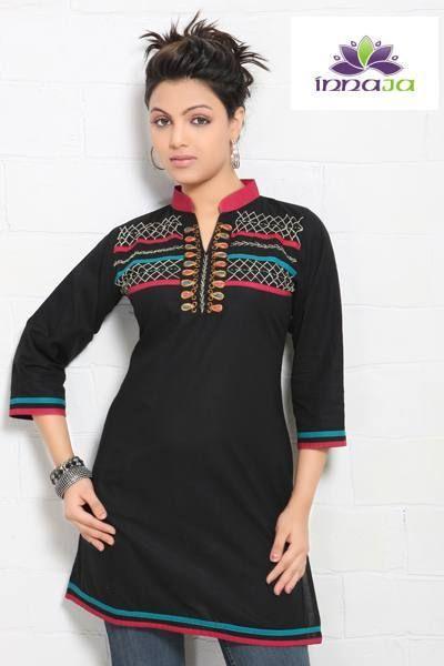 Fantastyczna tunika z bawełny oryginalna indyjska z Indii r. 38