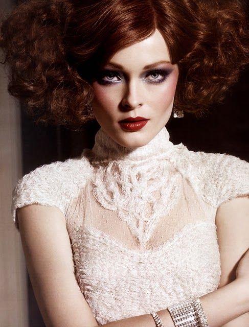 hairOlga Maliouk, Beautiful Editorial, Latin America, Blueeyemakeup, Blue Eye Makeup, Makeup Looks, Fashion Editorial, Film Noir, Bright Dreams