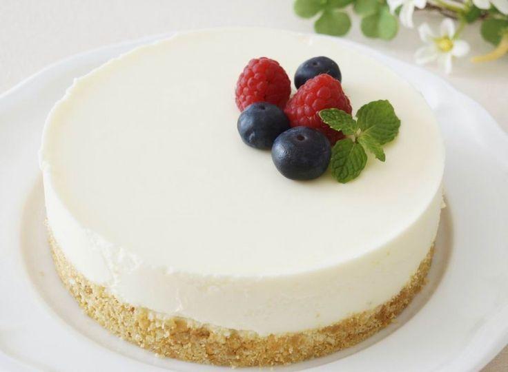 Sütés nélküli, hűtött sajttorta – könnyű, krémes
