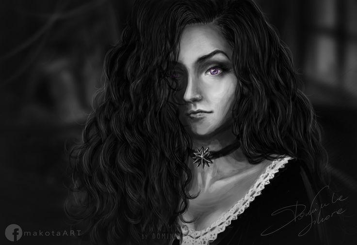 The Witcher: Yennefer from Vengerberg Fan art