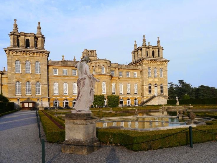 Blenheim Palace, Woodstock, Oxfordshire, in the Oxfordshire Cotswolds