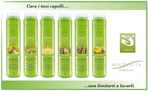 Uno #shampoo per ogni esigenza: - #antiforfora/antigrasso - #volumizzante per capelli fini - #anticaduta - per capelli trattati - per capelli secchi - per lavaggi frequenti. #MAXXelle #LineaCura #capelli #hair #haircare
