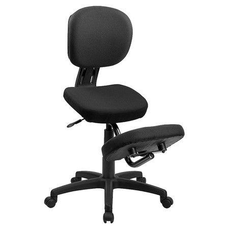 Found it at Wayfair - Astor Kneeling Mid Back Chair in Black