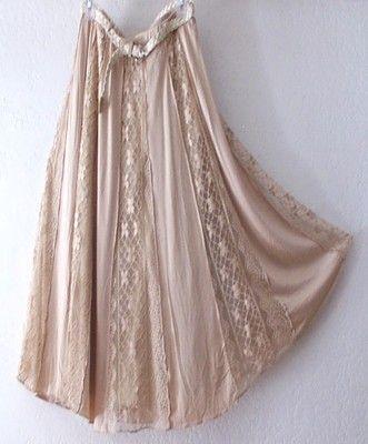 Lapis boho skirt