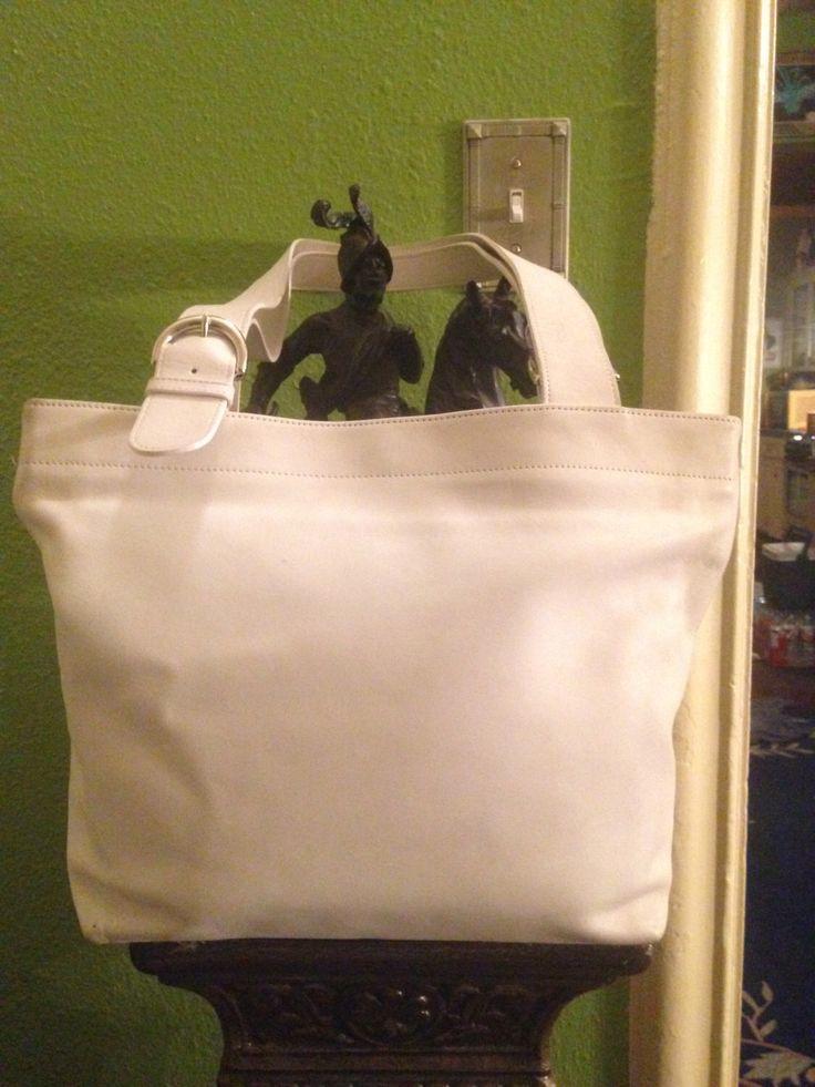 coach leather handbags outlet d7r0  Coach Leather Handbag No J8M-4140